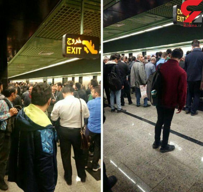 حقوق گمشده تهرانی ها در مترو / تاخیرها و مشکلاتی که با نارضایتی شهروندان هم پایانی ندارد!