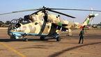 پنج کشته در سقوط بالگرد روسی