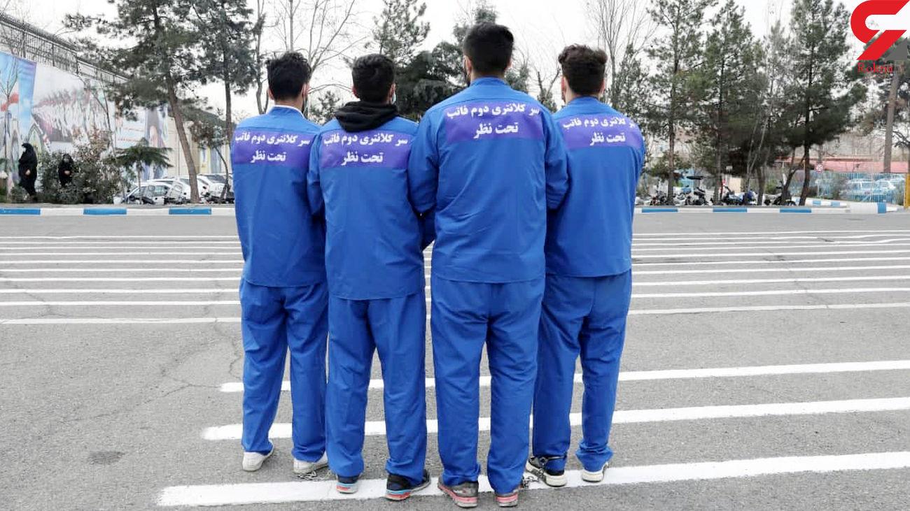 قمه کشی 4 شرور بد مست در جنت آباد تهران / 12 تن بی گناه زخمی شدند + عکس و فیلم