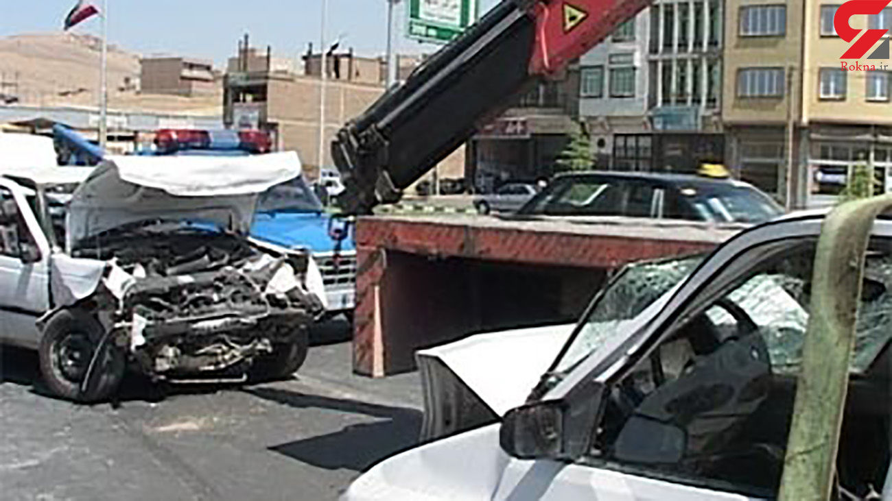 افزایش تصادفات درون شهری مهاباد