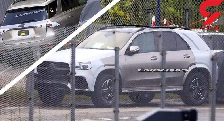 نسل جدید مرسدس بنز در لنز دوربین عکاسان گرفتار شد/تصاویر جاسوسی از این خودرو+تصاویر