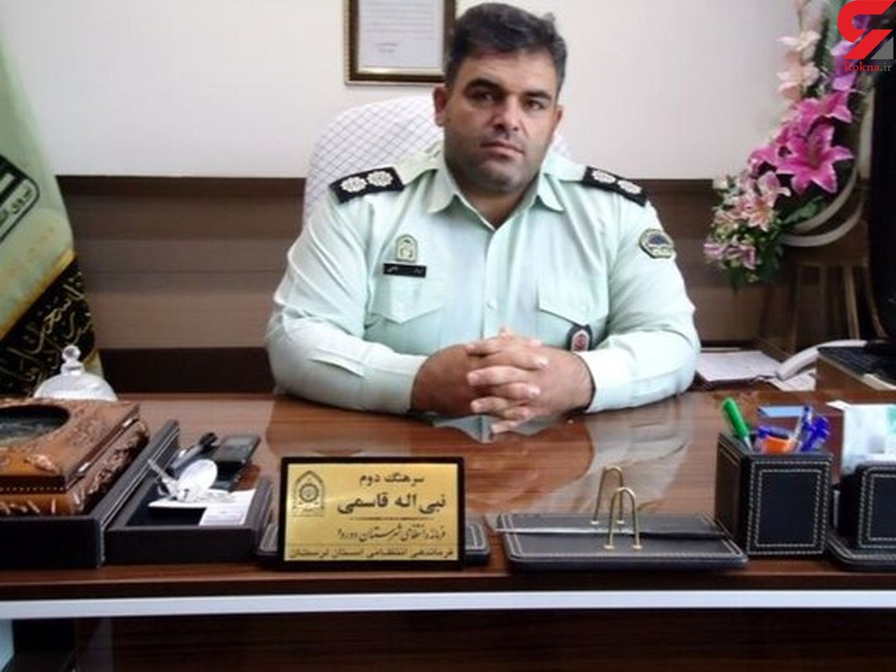 سارق حرفه ای در خانه اش در دورود دستگیر شد