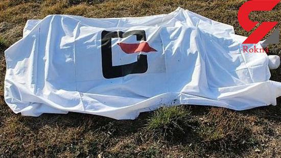 تصویر جسد مرموز در کنار رودخانه همدان+ عکس