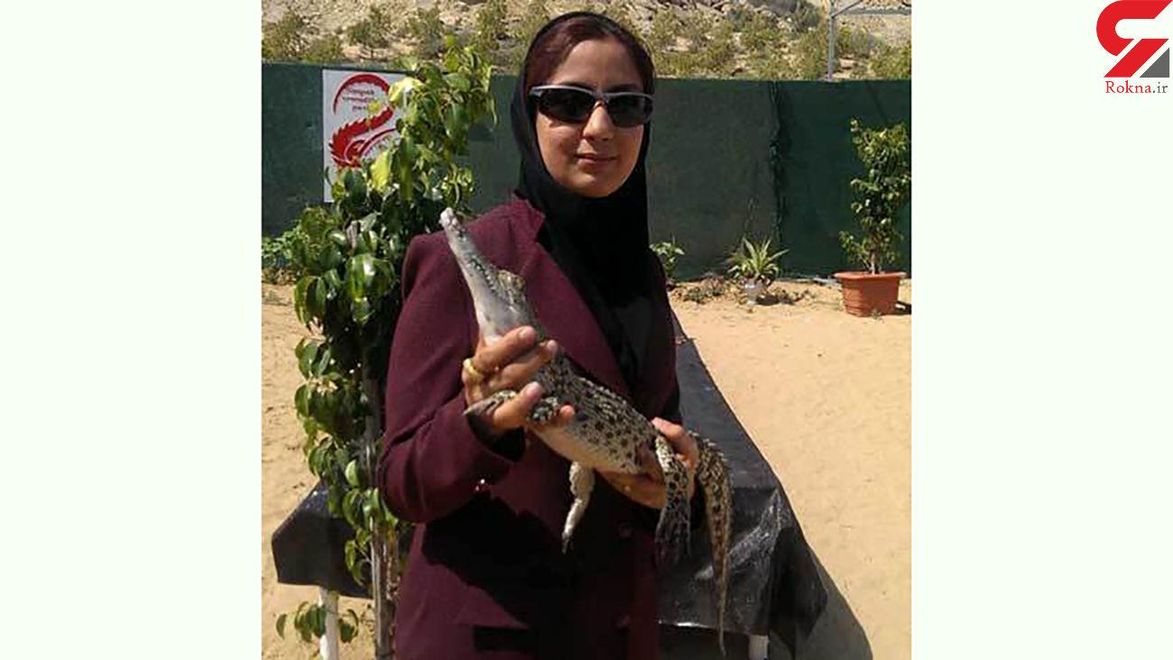 این بانوی ایرانی عاشق خزندگان است / مزرعه تمساح او دیدن دارد + عکس