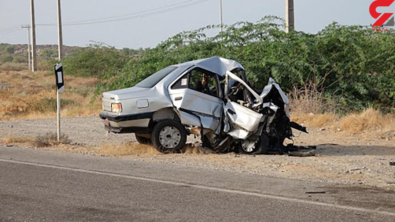 تصادف مرگبار در سیریک / 4 کشته و یک زخمی