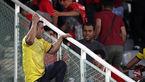 تماشاگر چاقوکش در بازی پرسپولیس - نفت مسجدسلیمان چگونه دستگیر شد؟/ ممنوعیت از حضور در ورزشگاه در انتظار فرد متخلف