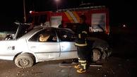 تصادف شامگاهی در تهران با 10 مصدوم