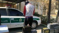 این مرد متاهل در زمانی کوتاه 200 باطری خودرو در تهران دزدید+ فیلم گفتگو و عکس