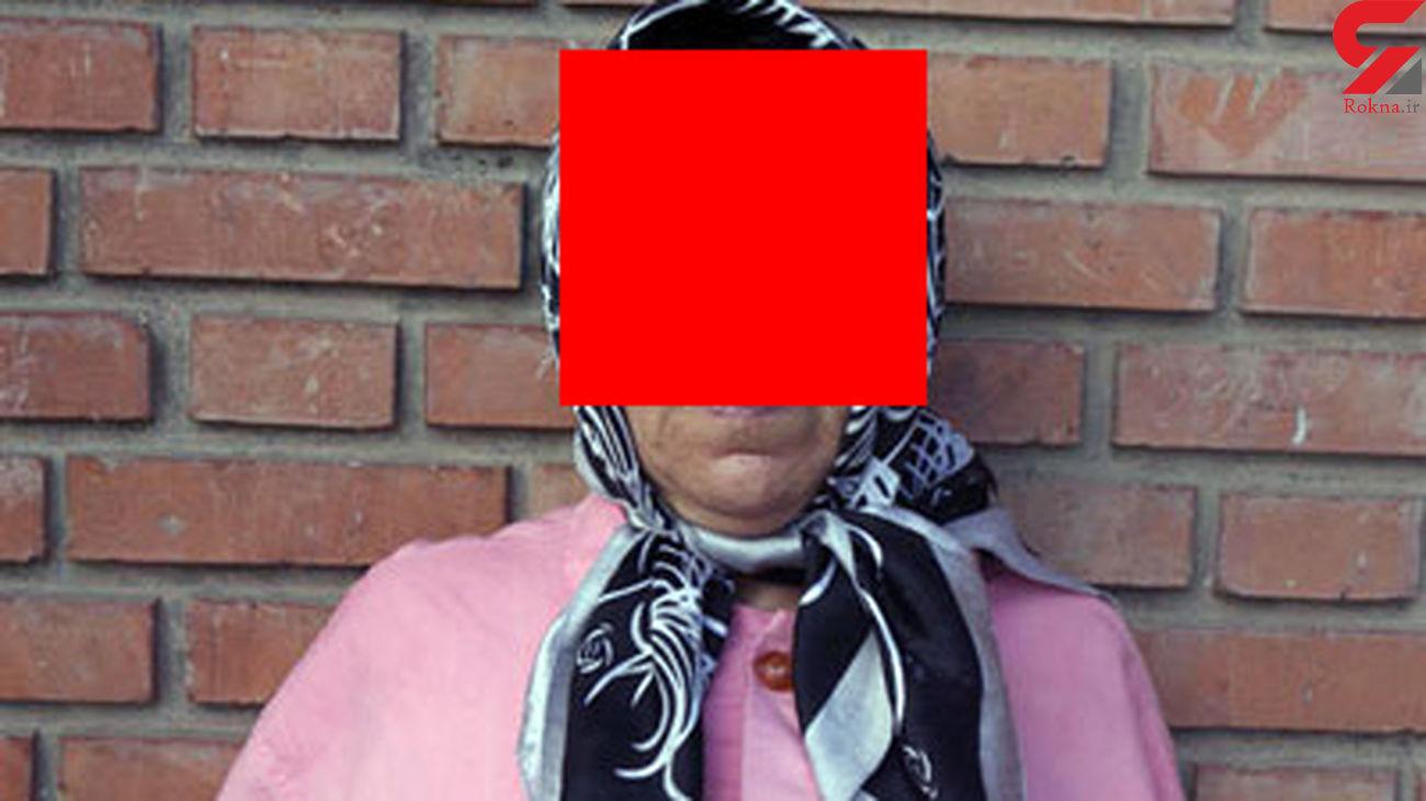 پایان کار پیرزن فریبکار در پاوه / او دزد طلاهای خانه ها بود +عکس