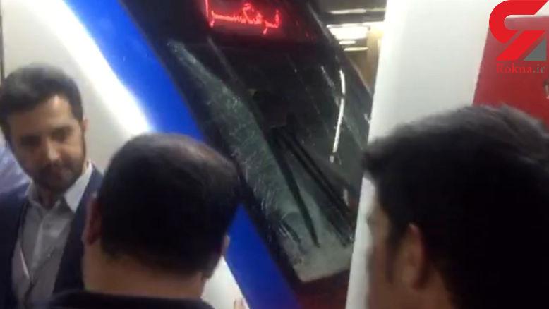 راننده مقصر قطار مترو در حادثه طرشت دستگیر شد + فیلم و عکس