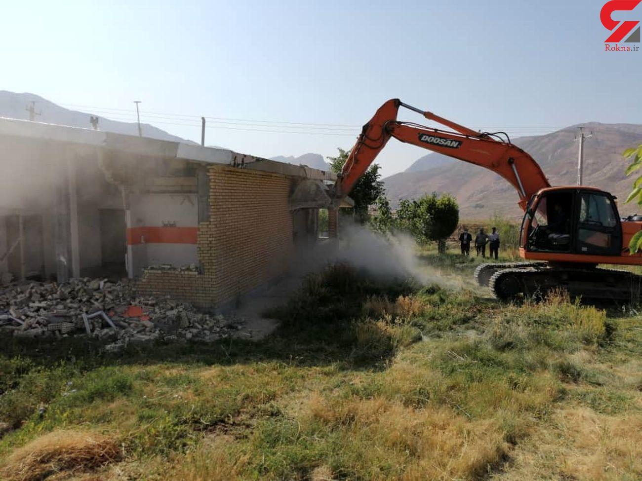 18 مورد ساخت و ساز غیرمجاز در بروجرد تخریب شد
