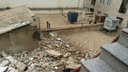 انفجار خانه مسکونی در خیابان جیحون + عکس