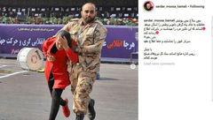 این سرباز غیور را شناسایی کنید/ او در اهواز چه کرد؟! + عکس ها