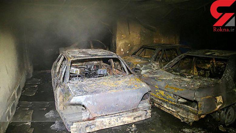 فیلم و عکس از آتشسوزی مرگبار در قم / 4 تن کشته شدند