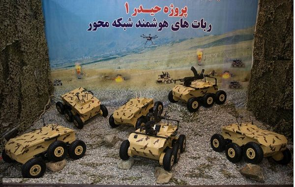 نزاجا با نسل جدید سربازان آهنی به جنگ تهدیدات و تروریستها میرود/ حالا آتش خودروهای انتحاری با رباتهای مسلح خاموش میشود + عکس