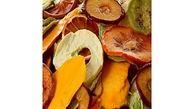 فوت و فن خشک کردن میوه های تابستانی