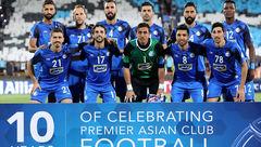 حضور تمامی بازیکنان و کادر فنی استقلال در مراسم سالگرد مظلومی