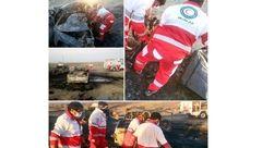 حادثه فاجعه بار / مرگ فجیع 13 نفر در میان شعله های آتش در سیستان و بلوچستان + عکس