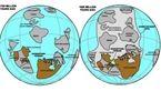 بیش از یک میلیارد سال قبل این دو کشور بهم چسبیده بودند