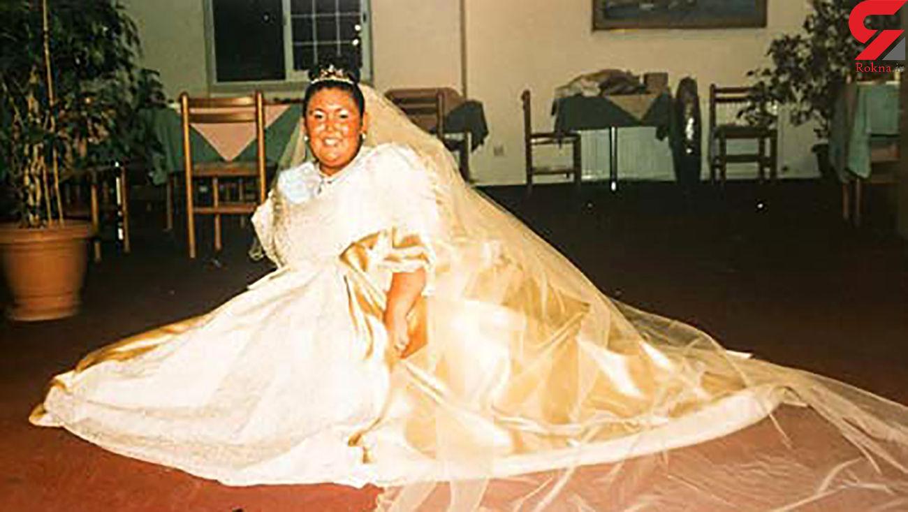 نیش و کنایه مردم عروس چاق را مانکن کرد + عکس