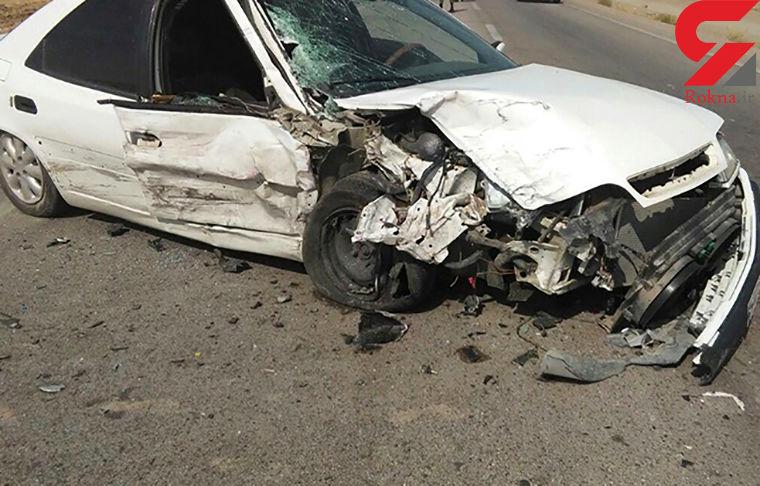 سرعت غیر مجاز زانتیا در فارس حادثه آفرید