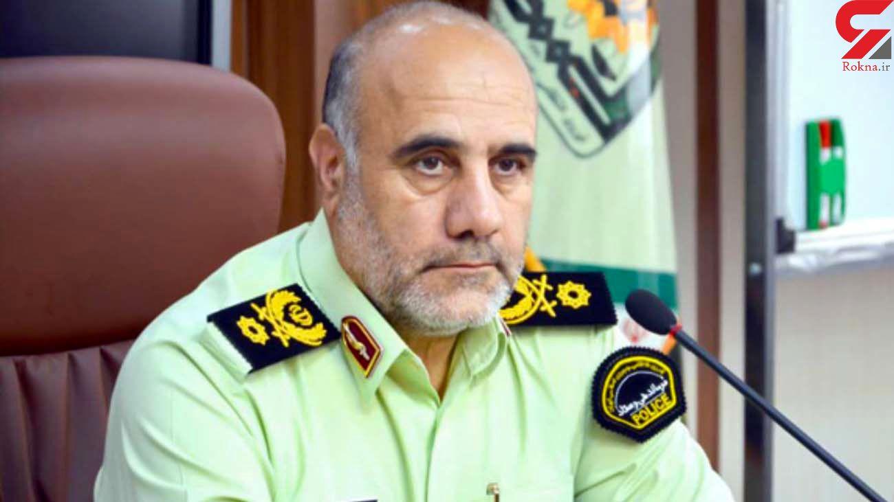 هشدار جدی رییس پلیس تهران به مجرمان / هیچ حاشیه امنی برای مجرمان نباید ایجاد شود