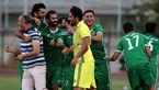 قدرتنمایی دوباره چوکا در فوتبال ایران +عکس