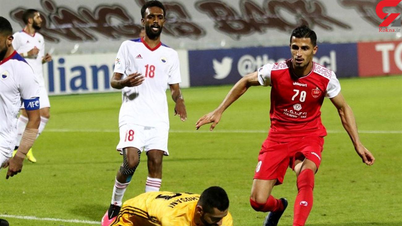 پرهوادارترین تیم امارات همگروهی پرسپولیس