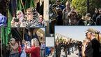 گرشگران خارجی در مراسم عاشورا +تصاویر