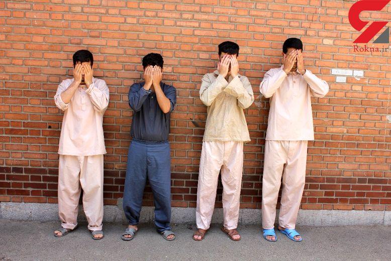 4 زن نقابدار مرد از آب درآمدند! / در تهران فاش شد + عکس