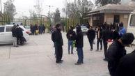 کارگران کارخانه سیمان مسجدسلیمان خواستارمطالبات خودشدند