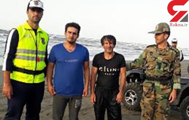 مامور فداکار یگان ویژه جان مرد اصفهانی را نجات داد+عکس