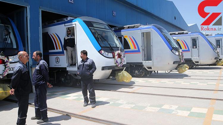 ۱۰ قطار جدید در مسیر ورود به مترو