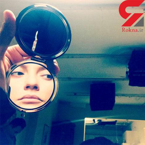 انتشار عکسی جالب از مهناز افشار