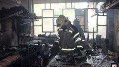 آتش سوزی هولناک در بازار شاهپور + عکس
