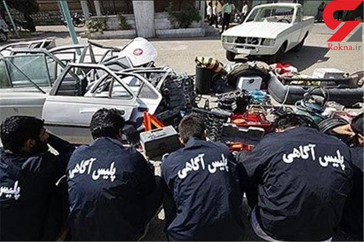 دستگیری 62 سارق حرفه ای در اهواز