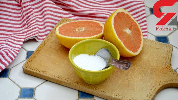 ضد عفونی وان حمام با یک  میوه پر خاصیت