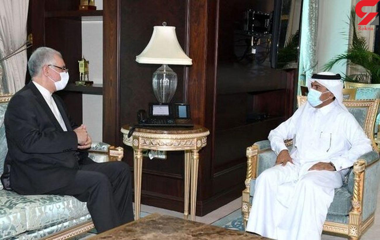 Iran, Qatar discuss 'important' issues on bilateral ties