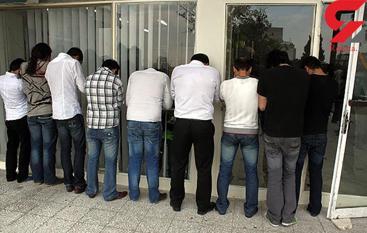 لیست اسامی بازیگران دستگیر شده در مهمانی شبانه سعادت آباد
