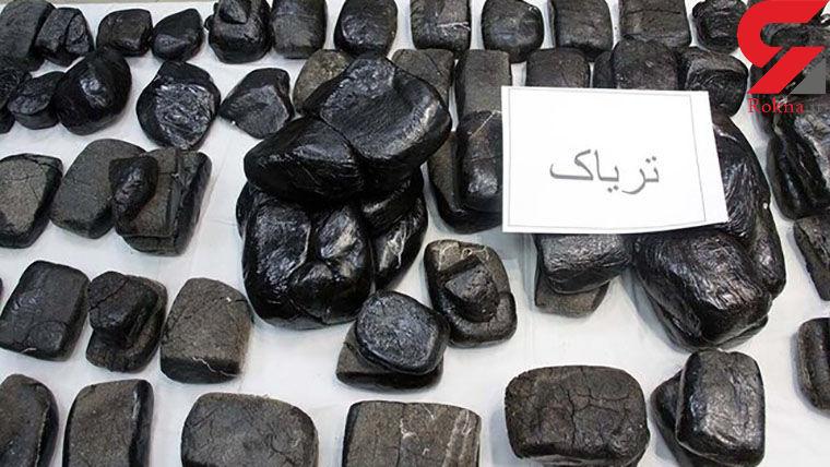 کشف 4 کیلوتریاک و 310 قرص روانگردان در کرمانشاه