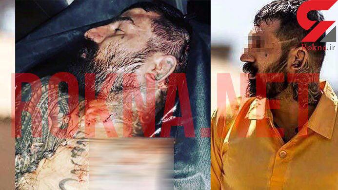 اولین عکس از جسد وحید مرادی قبل از خاکسپاری + عکس