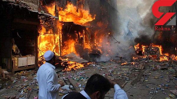 4 کشته در حادثه انفجار در پاکستان+عکس