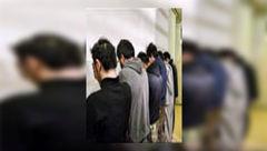 عربده کشان 15 و 17 ساله خیابان پورسینا را بشناسید / وحشت مردم از این 2 بچه