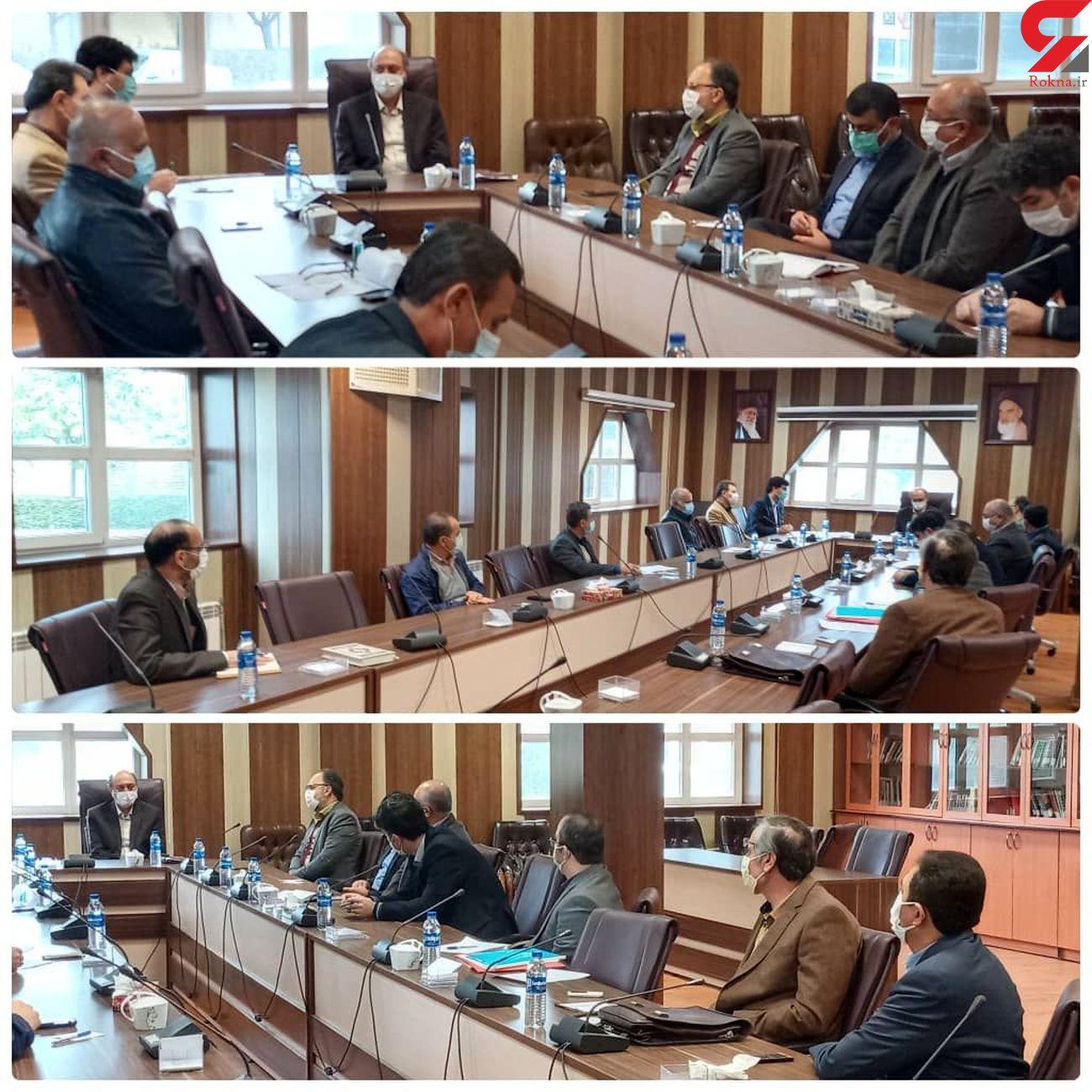 برگزاری  جلسه برای ساخت کتابخانه مرکزی استان قزوین