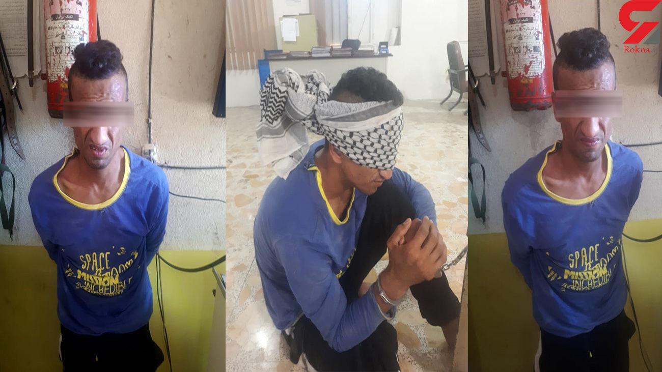 خانواده جوان کفترباز پلیس آبادان را با سنگ زدند + فیلم و عکس