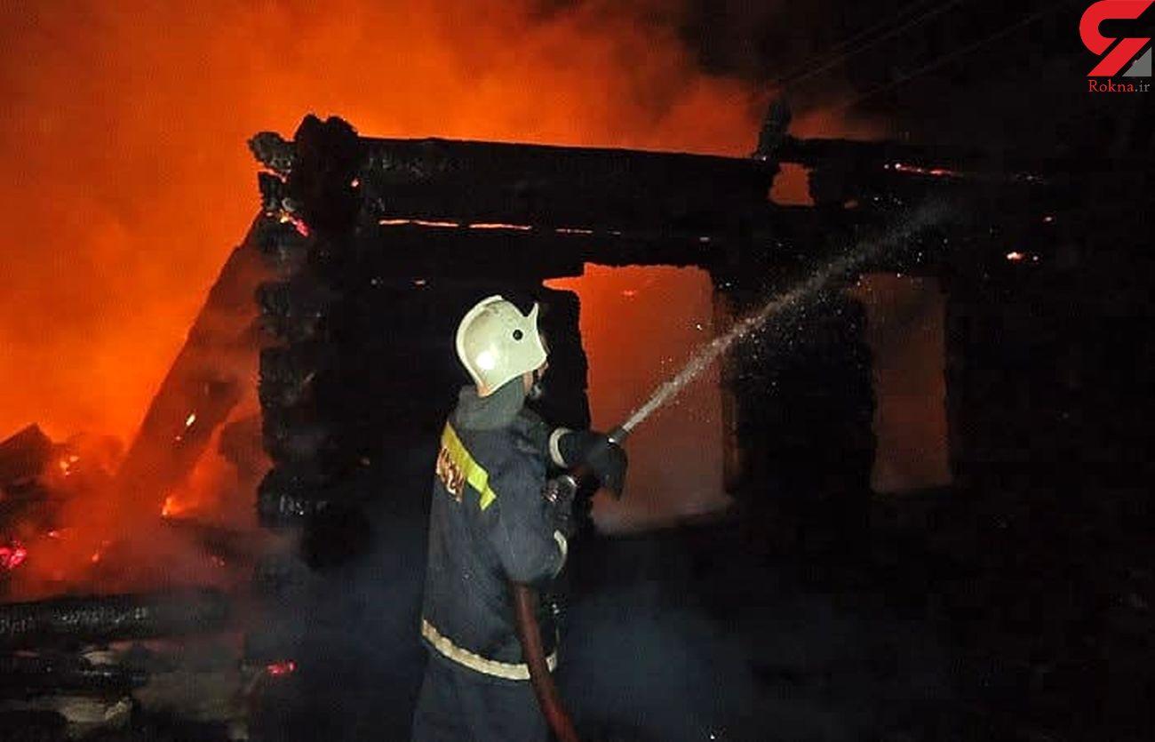 آتش سوزی مرگبار در خانه سالمندان / 7 نفر زنده زنده سوختند