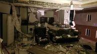 عجیب ترین عکس ها از انفجار یک خانه در جنوب تهران !