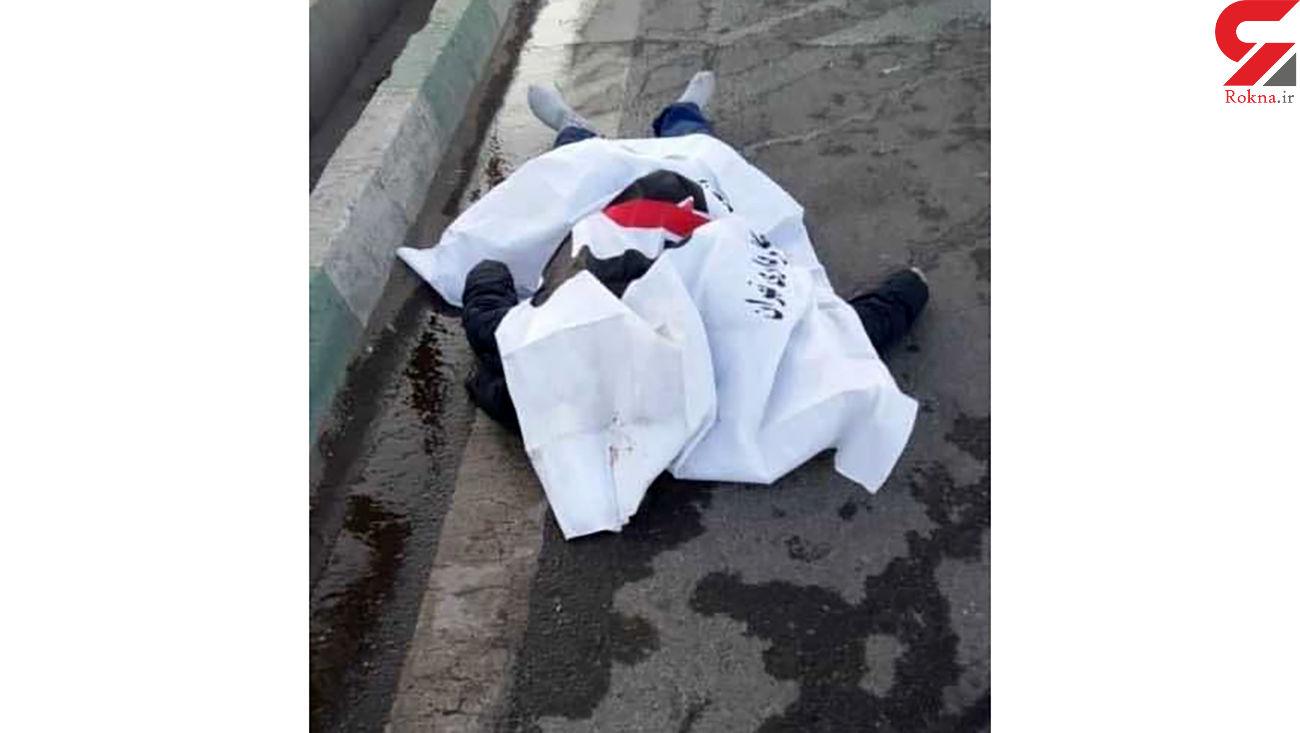 عکس جنازه مرد تهرانی در صحنه مرگ + عکس های  مختلف