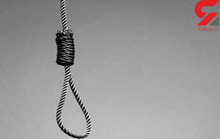 رهایی یک محکوم به اعدام از طناب دار