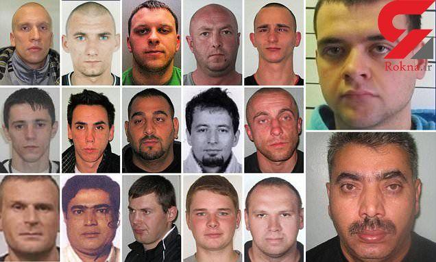 جستوجوی پلیس برای دستگیری 17 قاتل و قاچاقچی انسان در لندن